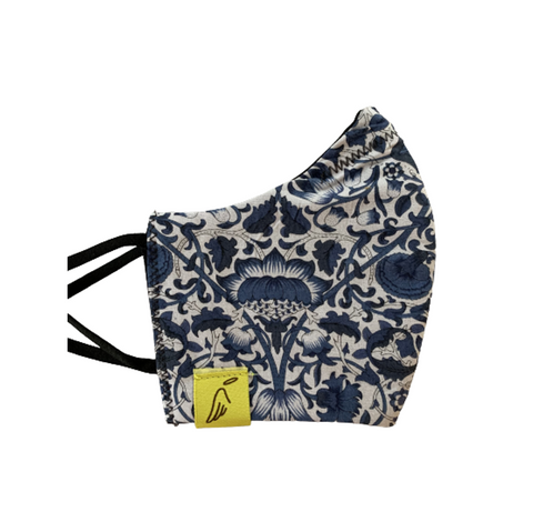 Kids Liberty Print Blue Mask
