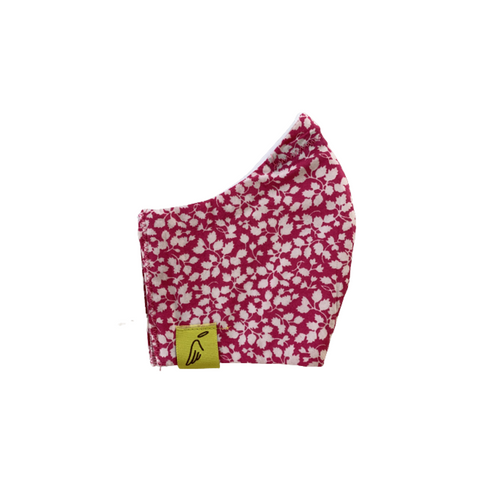 Kids Pink Liberty Print Face Mask