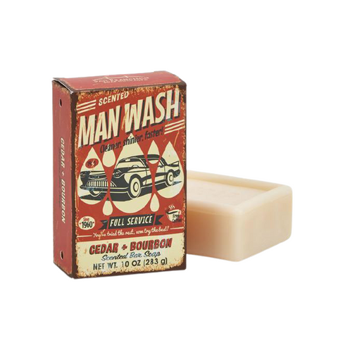 Cedar & Bourbon Man Soap