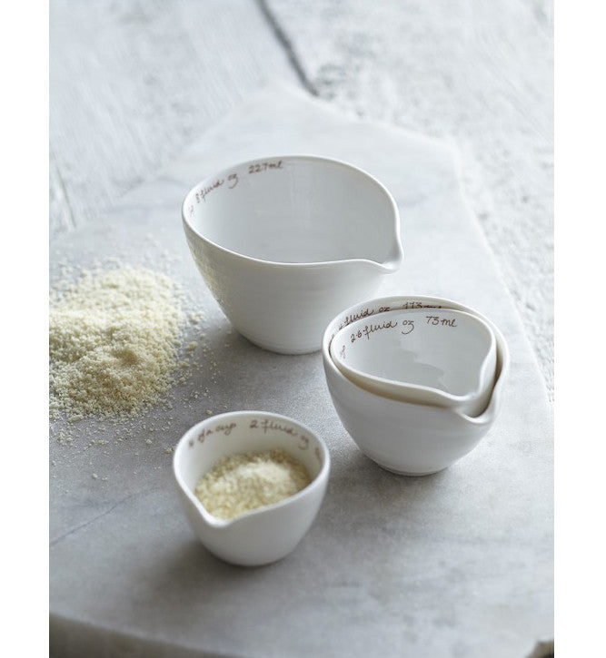 Sophie Conran White Porcelain Measuring Cups Set of Four