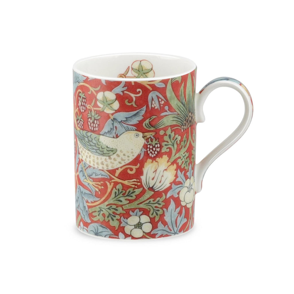 Royal Worcester Strawberry Thief - Crimson Slate