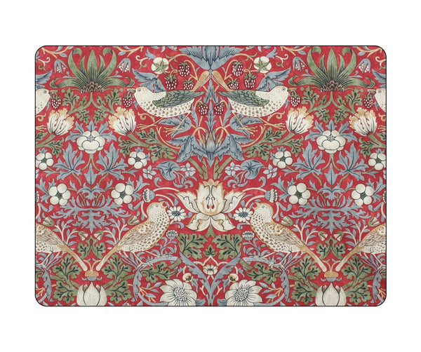 Pimpernel William Morris Strawberry Thief Red Placemats Set of 4