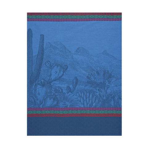 Jacquard Français Tea Towel - Voyage Arizona Denim
