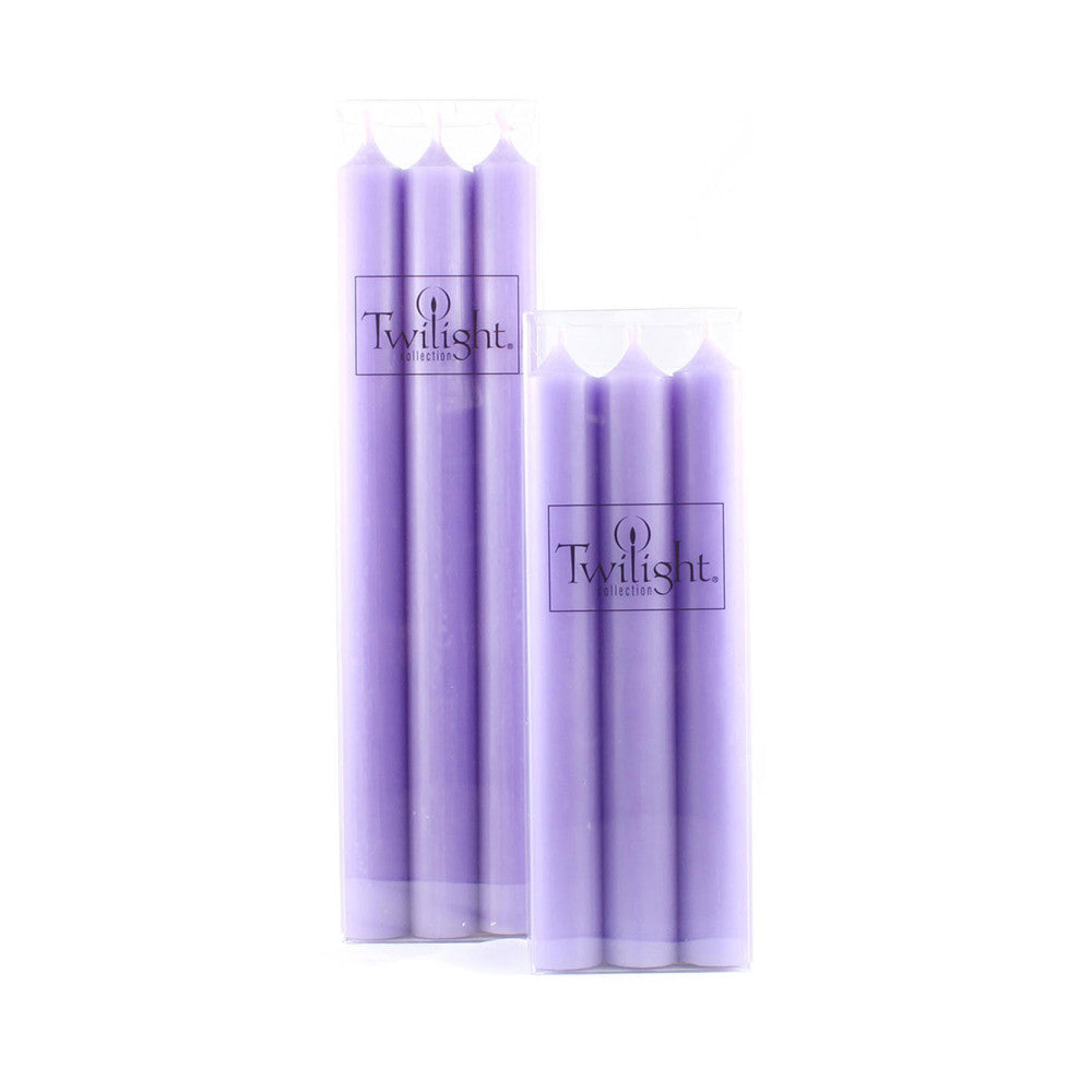 Set of 6 Lavender Candles