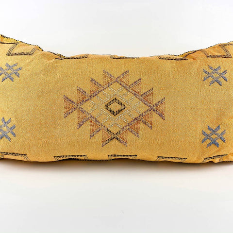 Yellow Moroccan Pillow