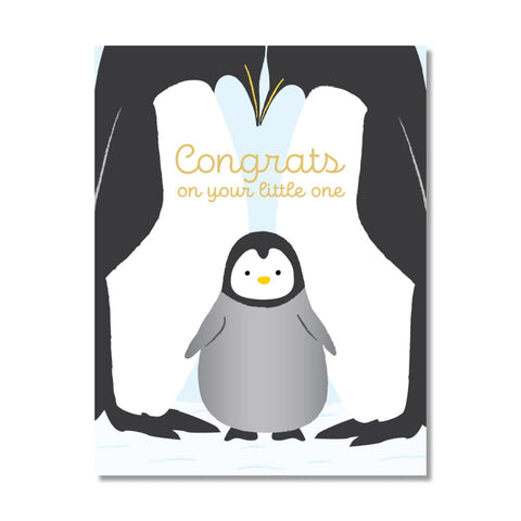 Congrats On Your Little One Greeting Card