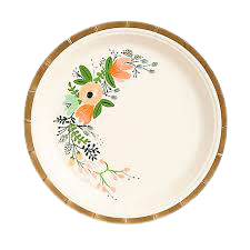 Rifle Wildflower Paper Plates