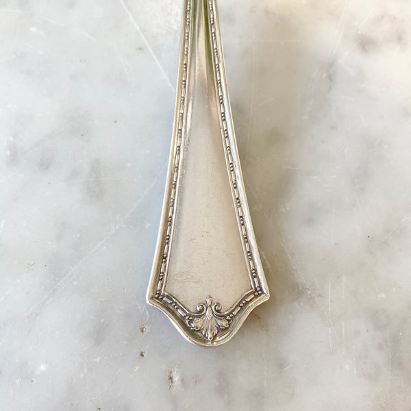 Vintage Silver Serving Spoon III