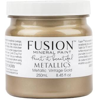 Fusion Paint Metallic Vintage Gold