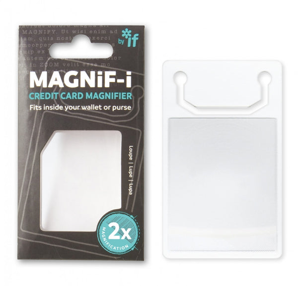 Magnifying Card