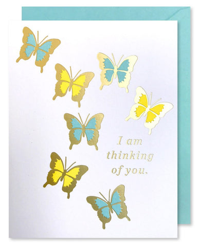 I Am Thinking of You Greeting Card