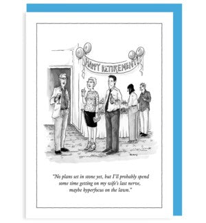 New Yorker Retirement Card