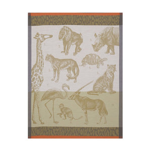 Jacquard Français Tea Towel - Safari Sand
