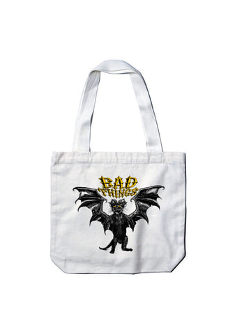 DEMON CAT TOTE