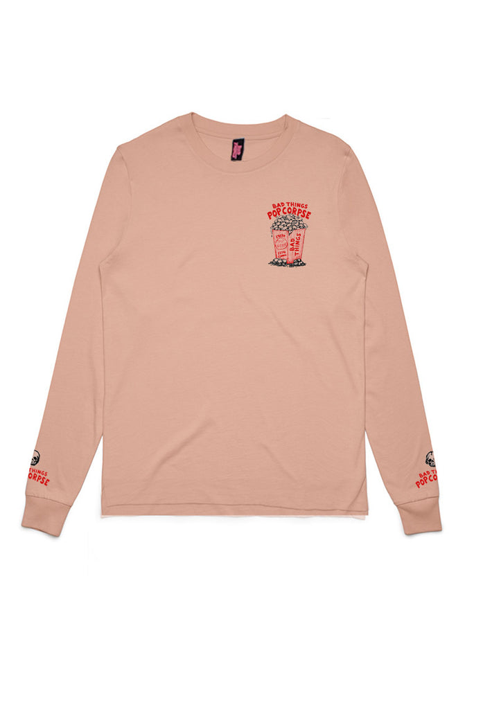 PINK POPCORPSE LONG SLEEVE