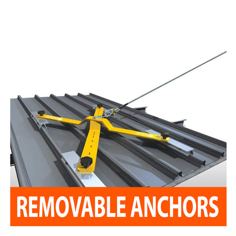 Temporary Removable Anchors