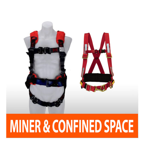 Confined Space & Miner Harnesses
