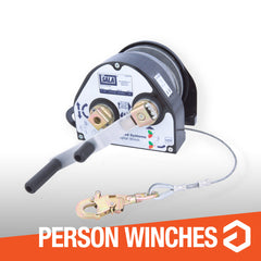 Winches for personnel