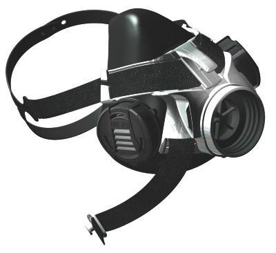 MSA Advantage 410 Single Half-Mask Respirator