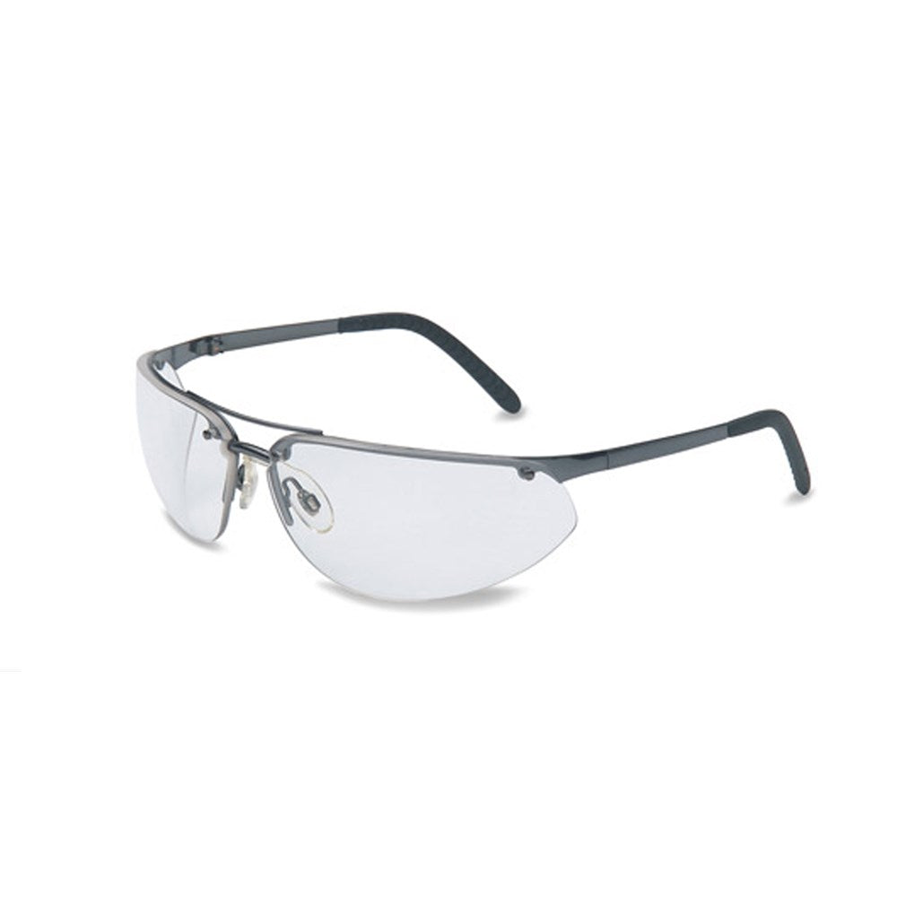 Fuse 9-base wrap around Hardcoat eye protection Gun-Metal Grey frame