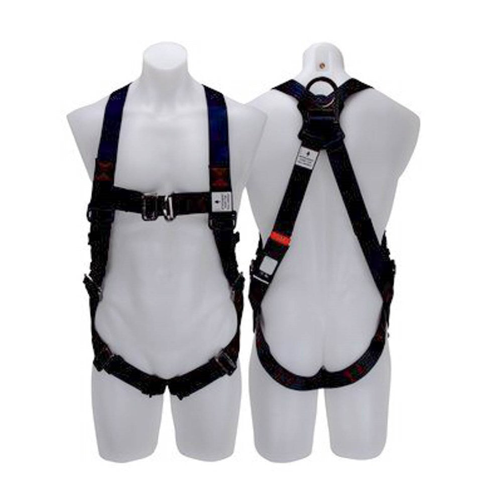 3M Protecta X / Pro X Riggers Harness, Stainless Steel, Pass-thru buckles