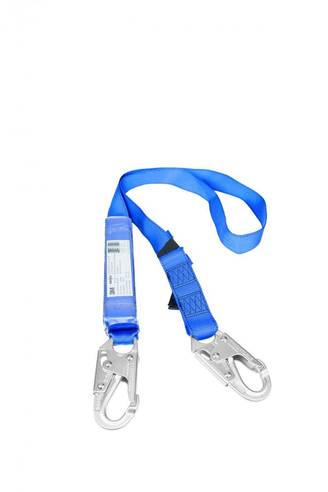 Protecta First EZ-Stop Adjustable Lanyard w/snap hooks 2m