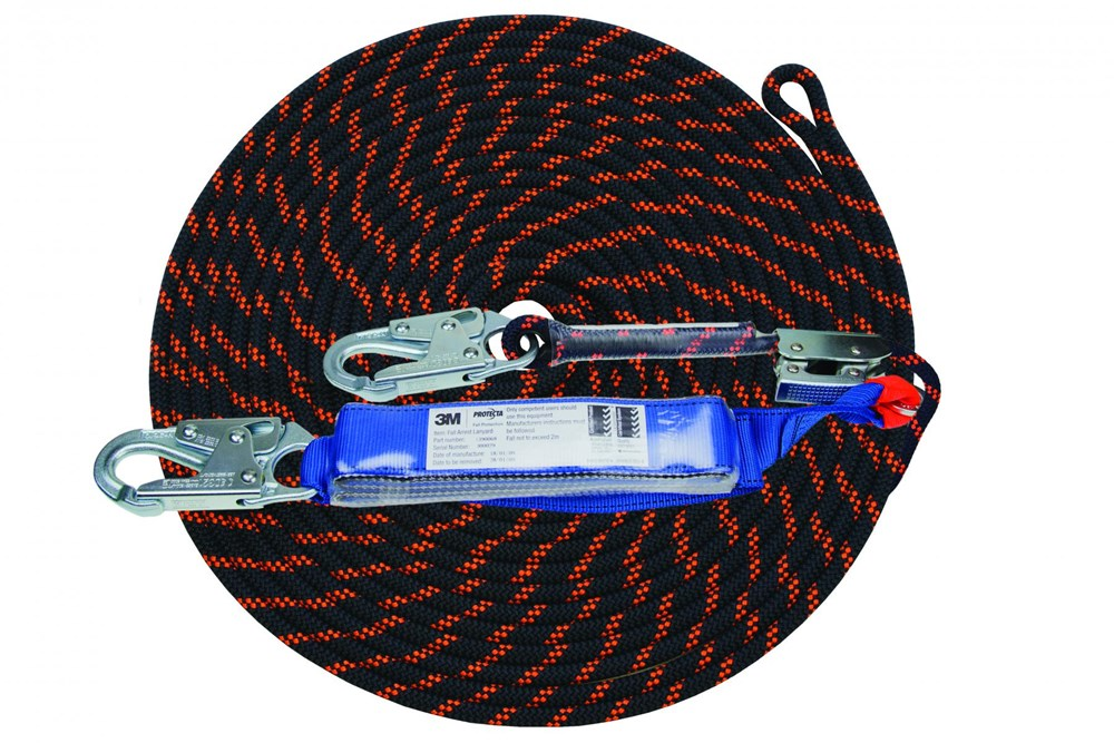 Sale! Protecta First Rope line w/snap hooks 15m