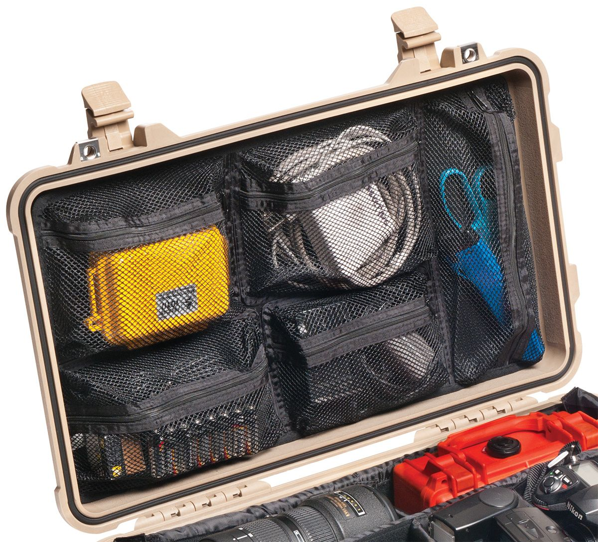 Pelican Lid Organizer 1519 for Case 1510