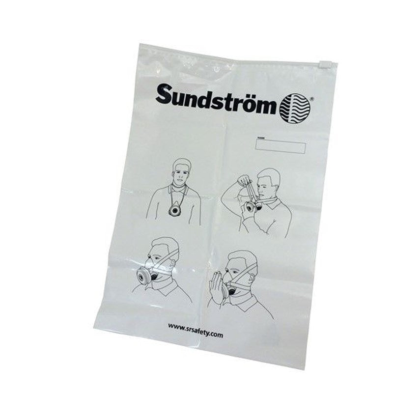 Sundstrom Plastic Storage Bag for Half Mask