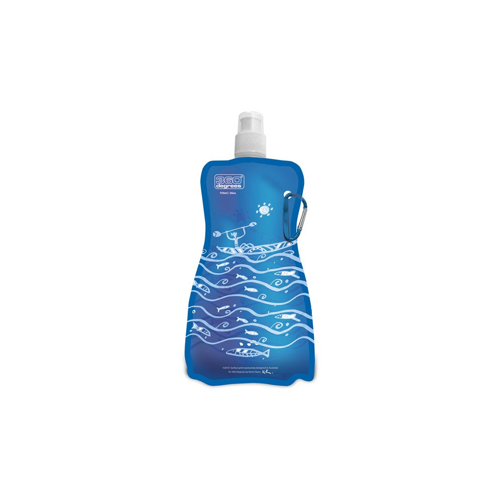 360 DEGREES Flexible Bottle 750Ml