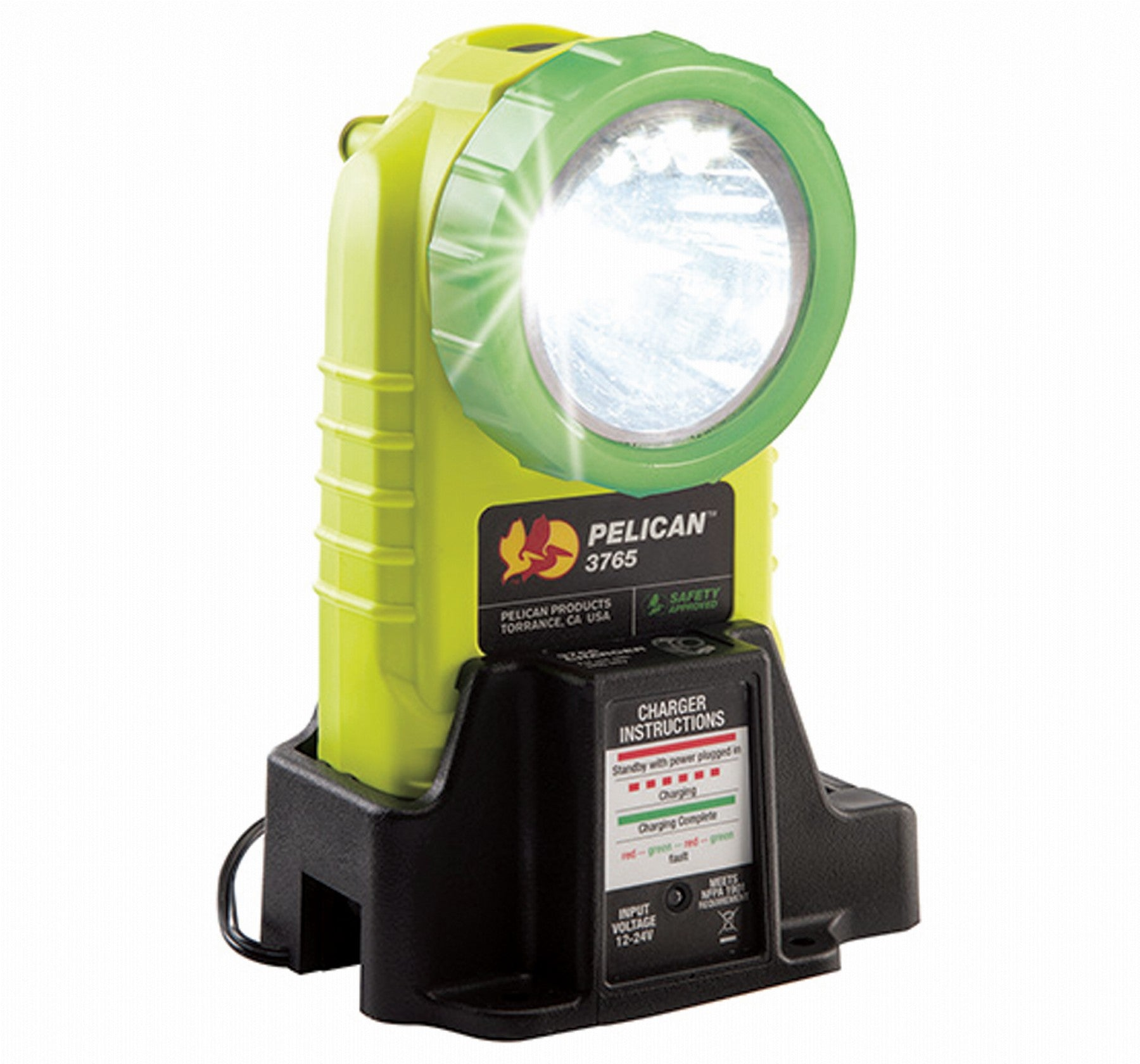 Pelican 3765LED Rechargeable Photoluminescent Torch