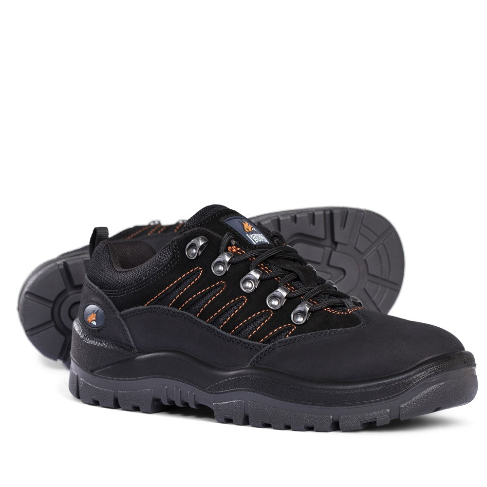 Mongrel Boots Black Hiker Shoe 390080