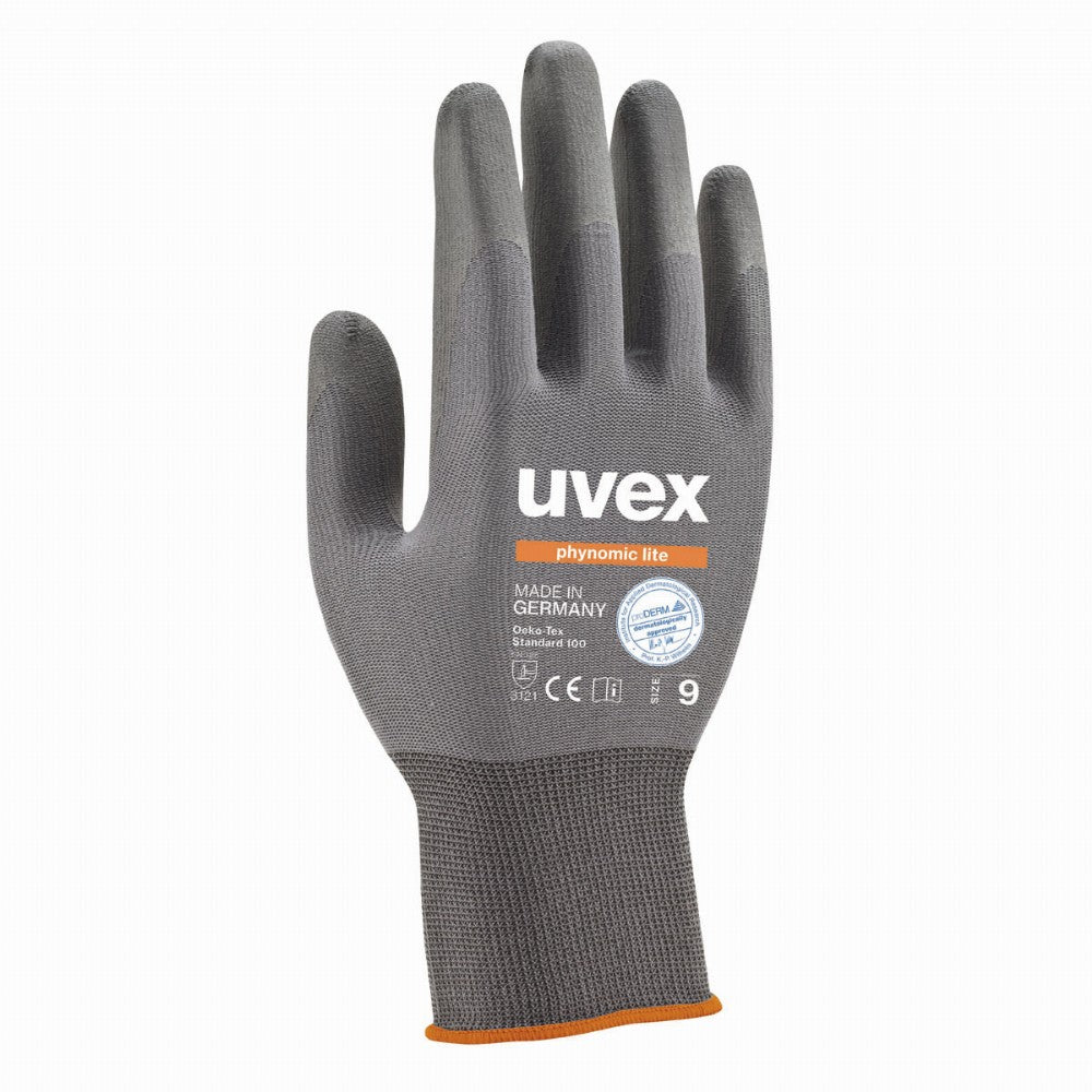 uvex phynomic lite precision work gloves