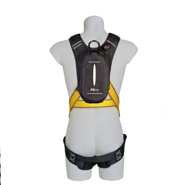MSA Safety Personal Rescue Device (Prd) With Workman Premier Harness