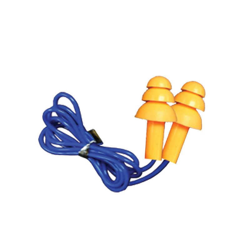 MSA BLOCKA Silicone Earplugs Corded