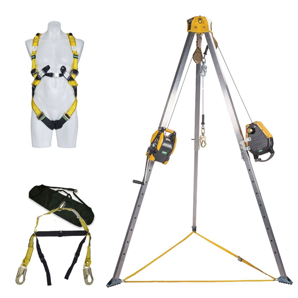 MSA Confined Space Kit 15m with Workman Rescuer & Workman Winch