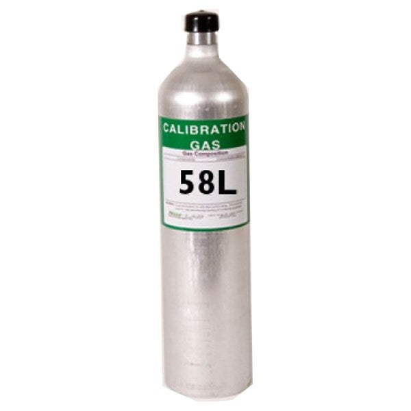MSA Safety Calibration Gas Nitrogen Oxide 50 Ppm In N2 -58L 812144