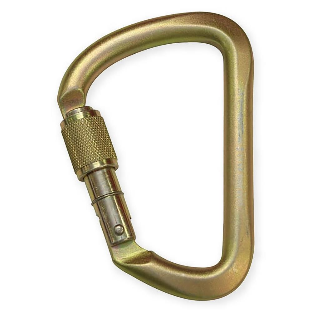 (EOL) Sala Karabiner, Large, Offset D, screwgate