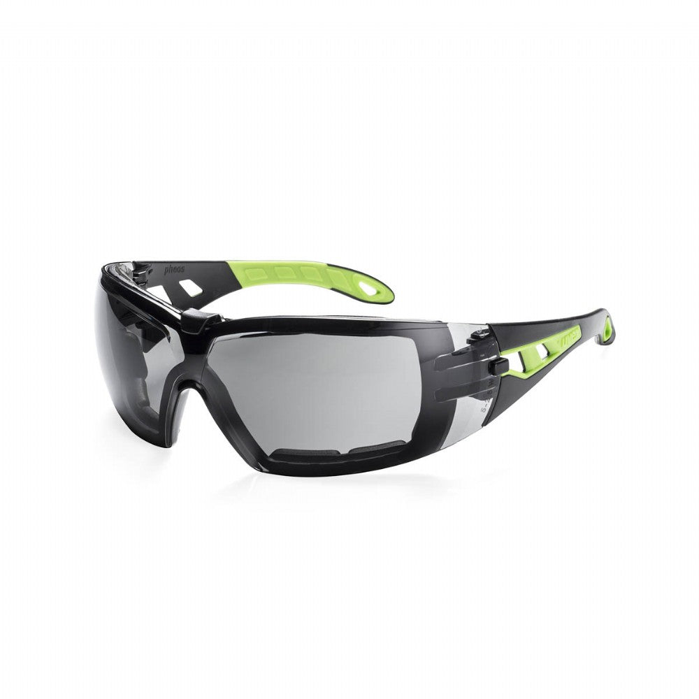 uvex pheos with guard safety glasses