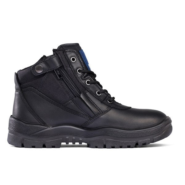Mongrel Boots Black Non-Safety ZipSider Boot 961020