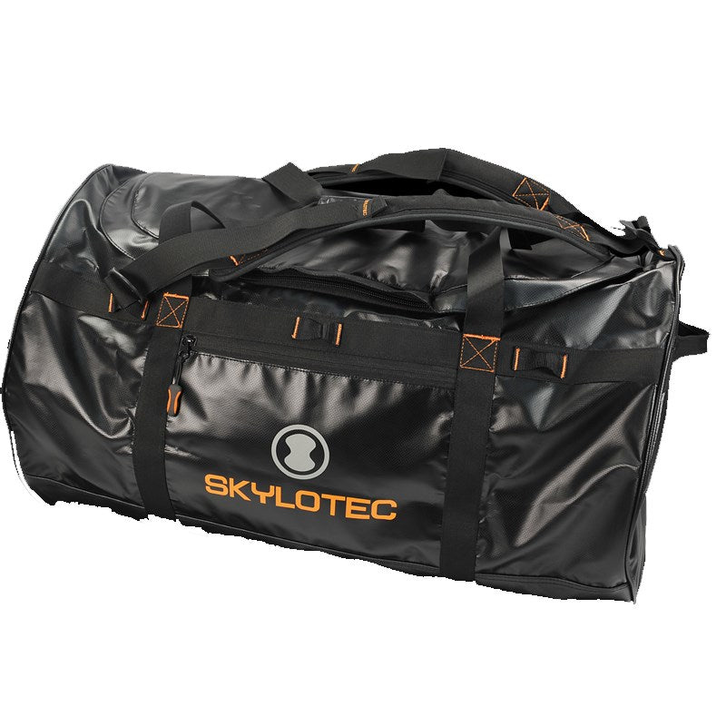 Skylotec Duffle Bag - BLACK - Heavy duty water proof kit bag with shoulder straps. Large
