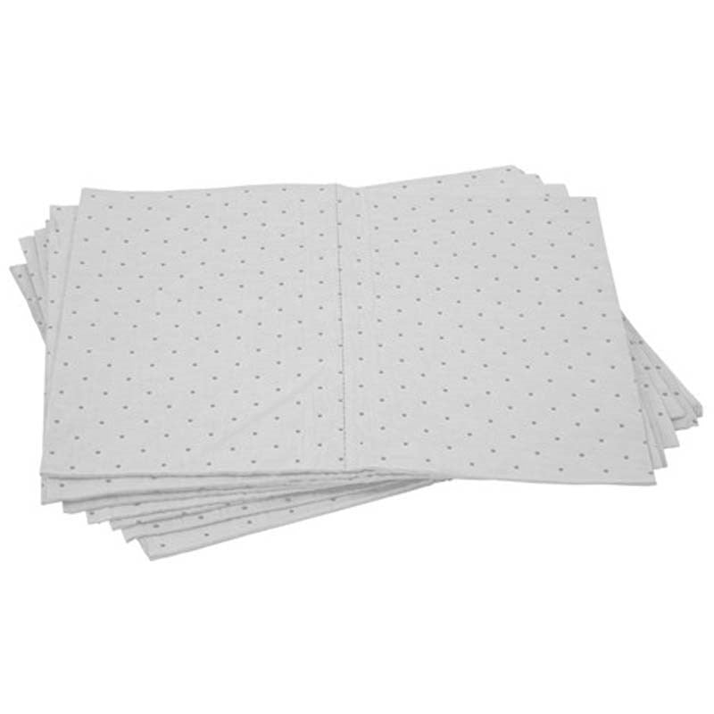 Pratt Oil/Fuel Absorbent Pad- 300Gsm. 10-Pack