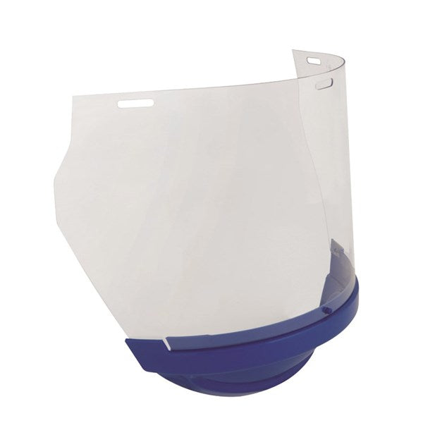 3M UniSafe Replacement Polycarb Visor Blue Chinguard
