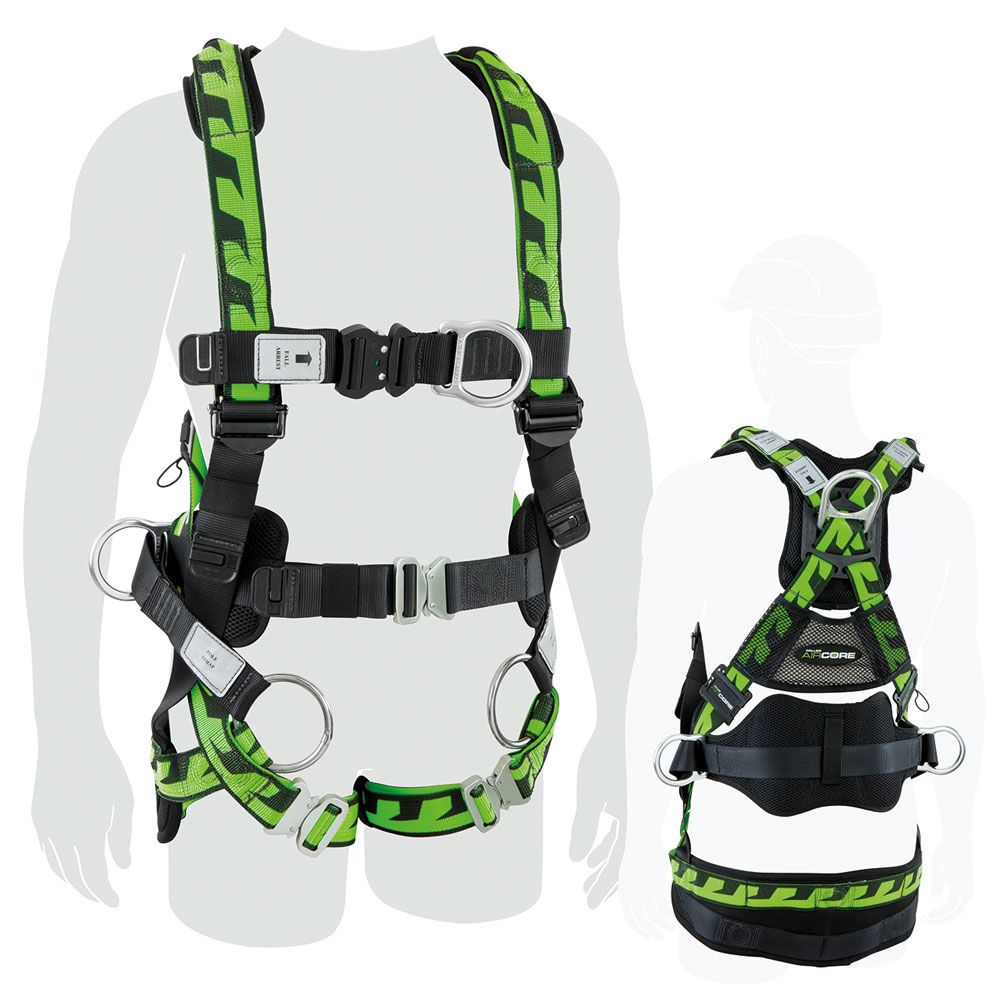 Miller AirCore Tower-workers Harness (Hard chest D)