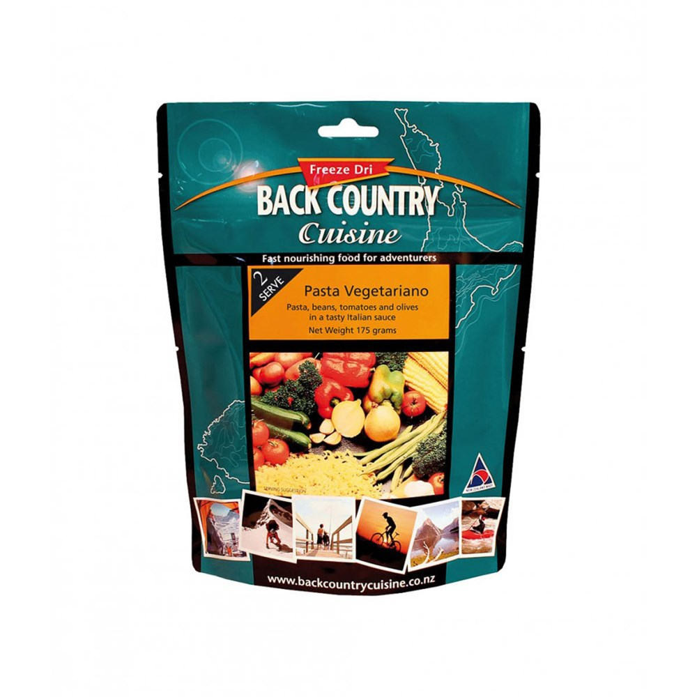Back Country food packs - Pasta Vegetariano