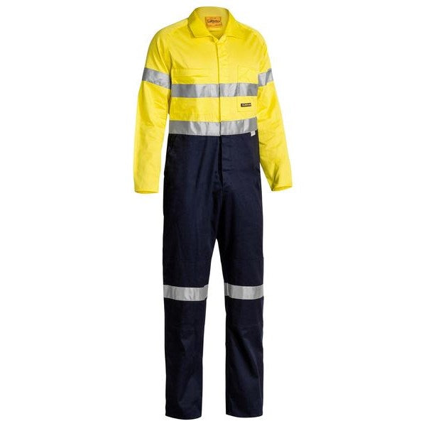 Bisley 3M Taped Lightweight Hi Vis Coverall