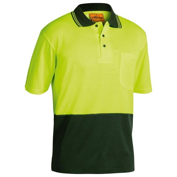 Bisley Hi Vis Polo Shirt Short sleeve