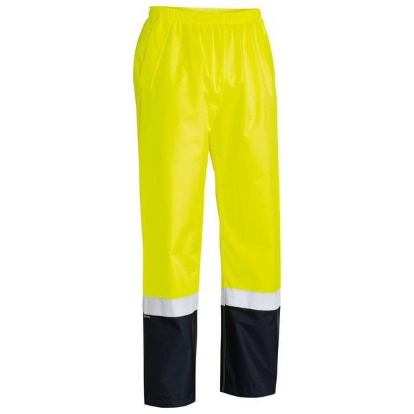 Bisley Taped Hi Vis Rain Shell Jacket (Waterproof)