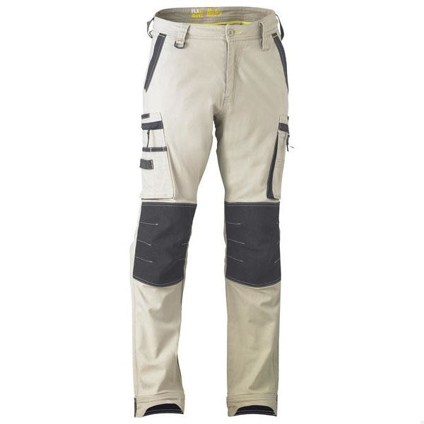 Bisley Flex & Move Stretch Utility Zip Cargo Pant
