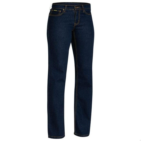 Bisley Womens Rough Rider Denim Stretch Jean